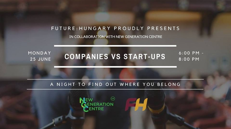 'Corporations Vs Start-Ups', Zwack Unicum Museum, 25 June
