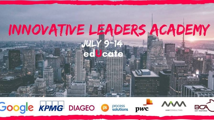 'Innovative Leaders Academy', EdUcate, 9 – 14 July