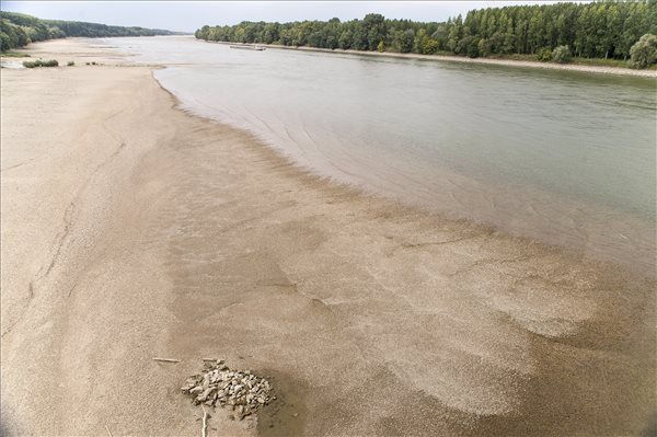 Now Impossible To Navigate Stretches Of Danube North Of Budapest