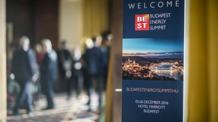 Budapest Energy Summit, Marriott Hotel, 3 – 6 Dec