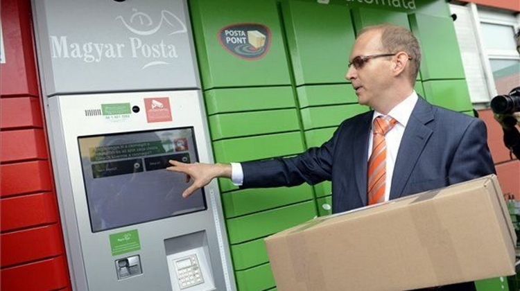 Self-Service Parcel Terminal Business Expands In Hungary