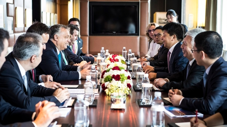 Hungary Delegation Holds Talks With Huawei Chairman
