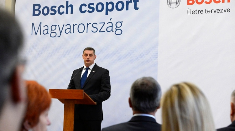 Bosch Investing HUF 14 Bn In Base In NE Hungary