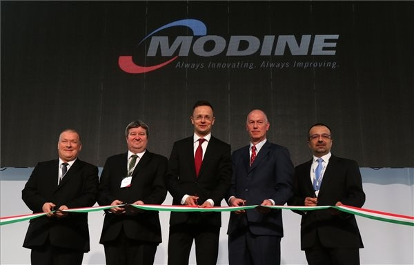 Modine Inaugurates EUR 19.8m Expansion In North-Eastern Hungary