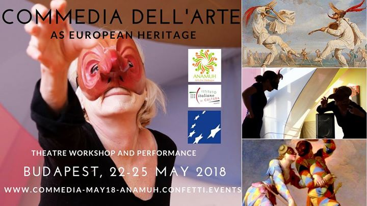 'Commedia Dell'Arte' Theatre Workshop & Performance, Italian Institute, 22 - 25 May