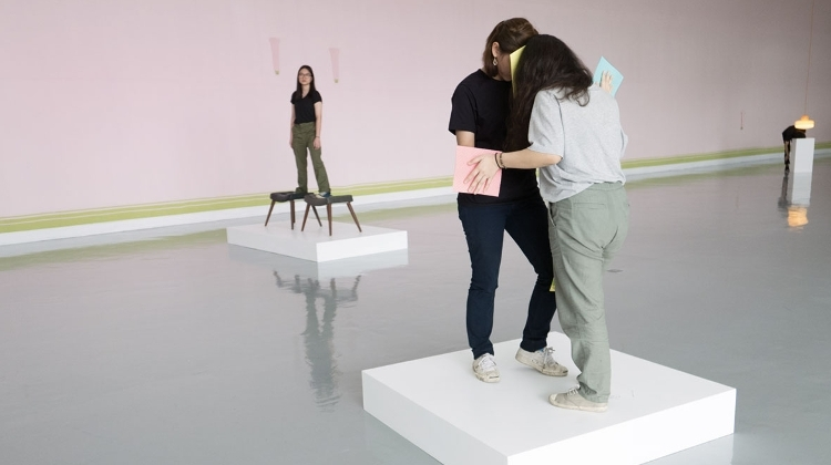 "Erwin Wurm: ""One Minute Sculptures"" Interactive Exhibition, Ludwig Museum"