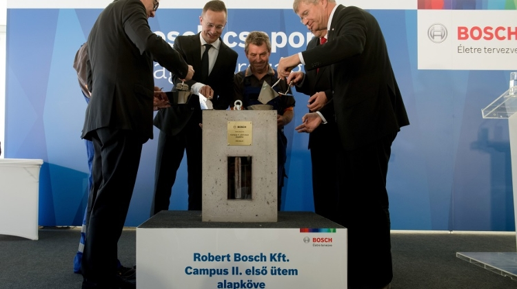 Video: Bosch To Expand Budapest Development Centre For HUF 37 Bn
