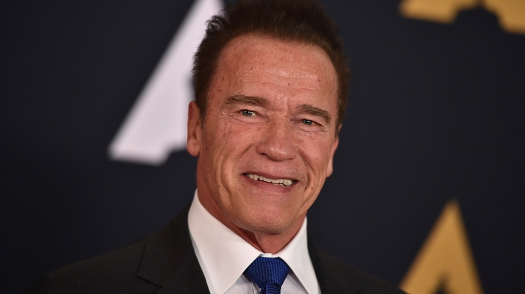 Schwarzenegger Arrives In Town To Shoot New Terminator Movie