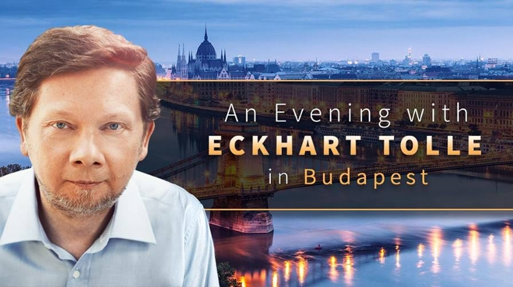 An Evening With Eckhart Tolle In Budapest, 4 October