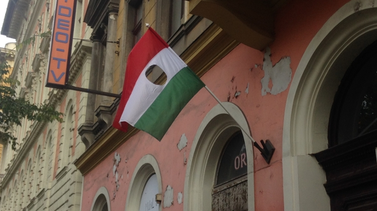 The Story Of Hungarian Flag With A Hole