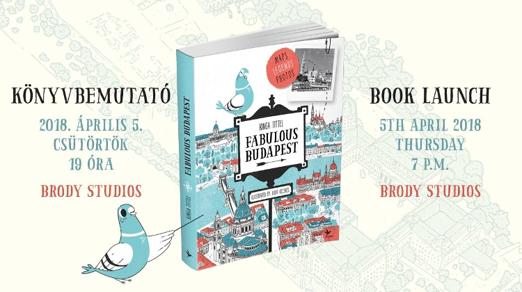 'Fabulous Budapest' Book Launch, Brody Studios, 5 April