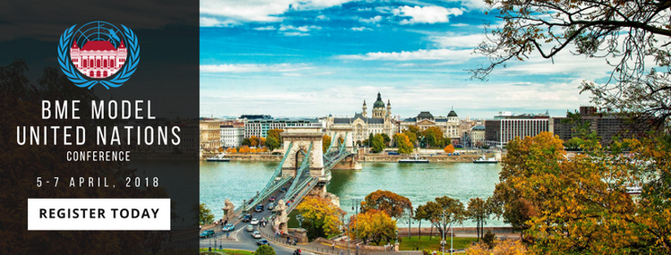 'BME Model UN Conference', Budapest, 5 - 7 April