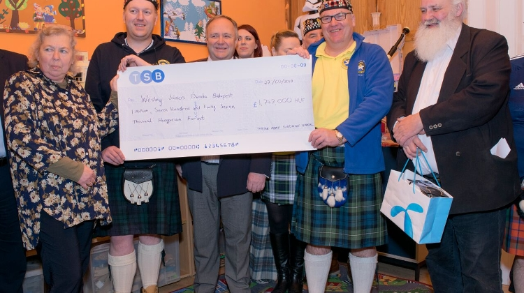 Scottish Football Fans Raise Funds For Budapest Nursery