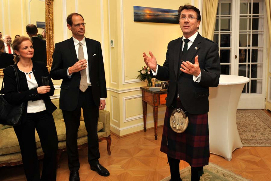 See What Happened: Burns Celebration 2018 @ British Ambassador's Residence