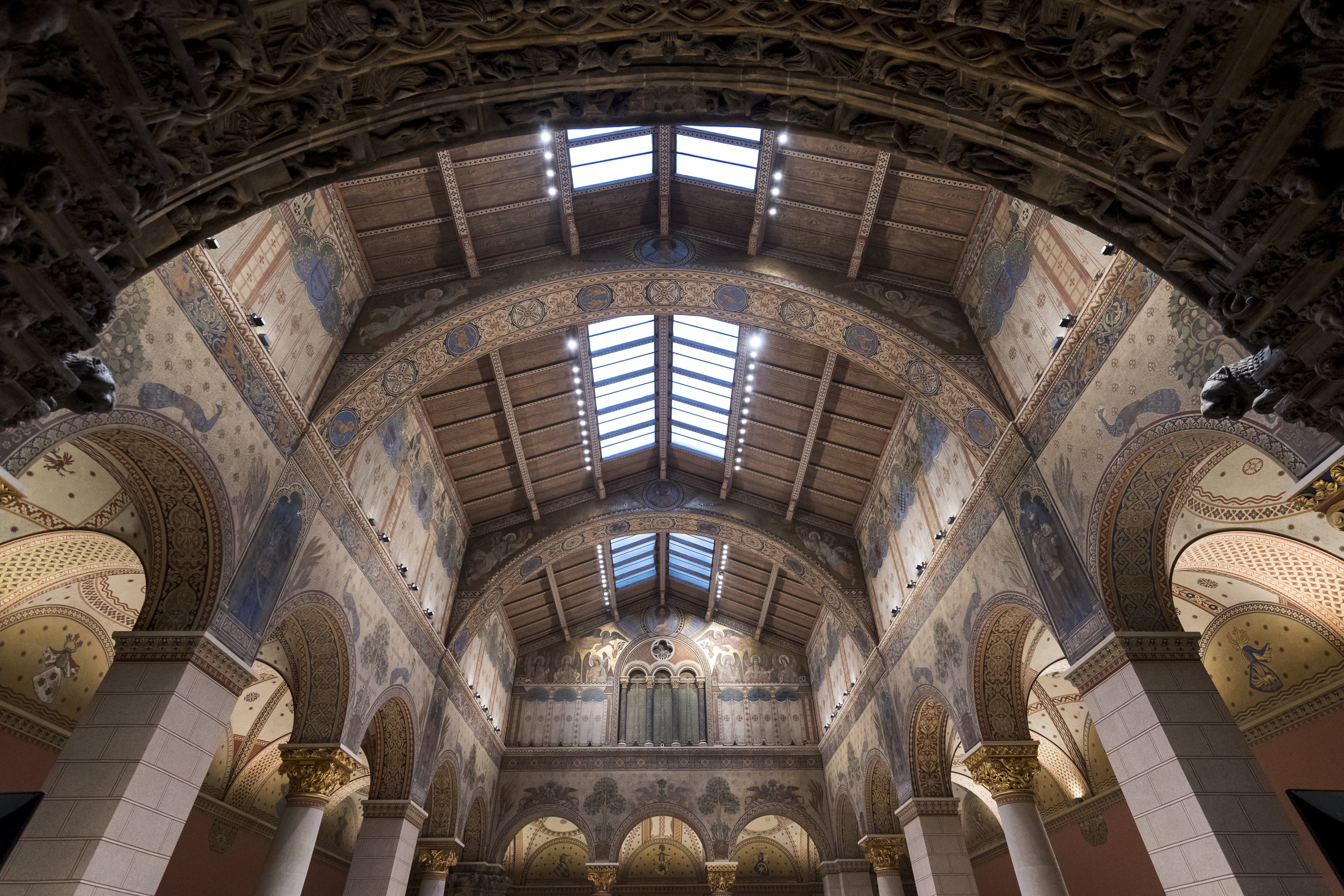 Fine Arts Museum To Reopen Romanesque Hall