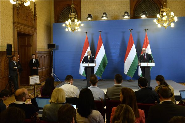 PM Orbán To Meet European People's Party Leaders In Brussels On Wednesday