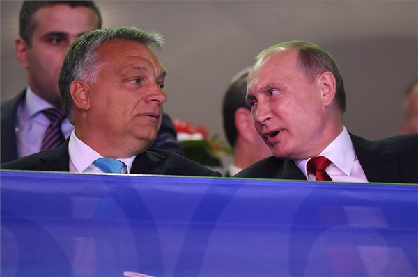 Putin Congratulates Orbán On Election Win