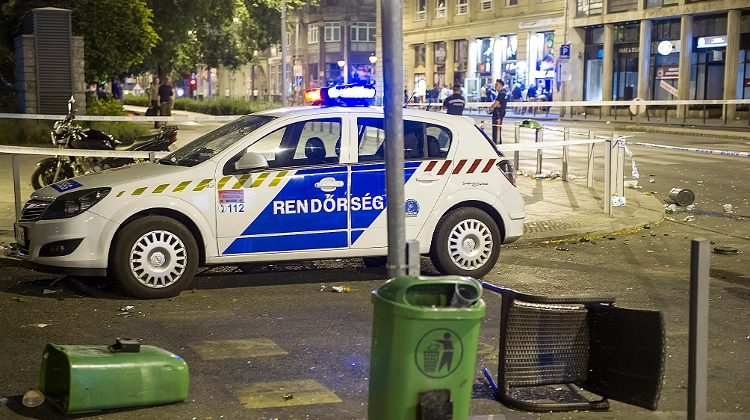 Police Suspect 'Acid Attack' In Budapest Was Accident