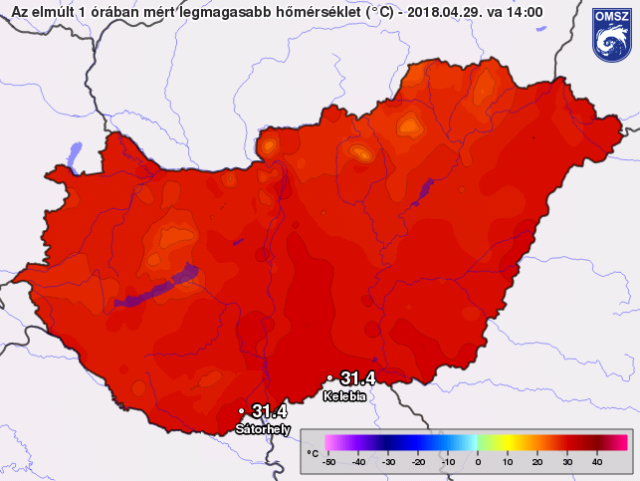 Warmest April In Hungary For Over 200 Years