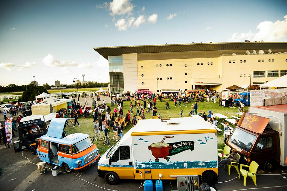 'Food Truck Show', Kincsem Park, 4 – 6 May