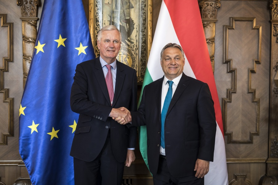 PM Orbán, Officials Hold Talks With EU Brexit Negotiator