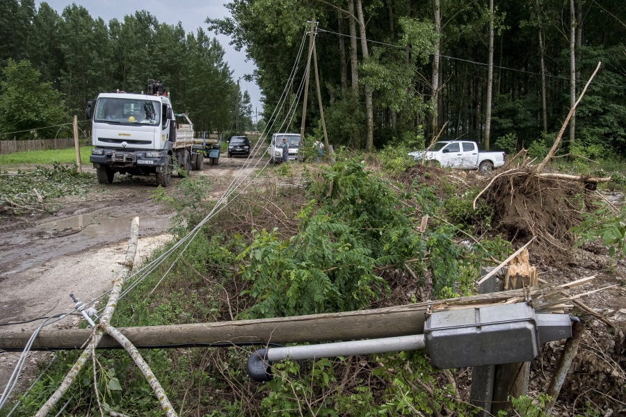 June Storms Caused HUF 1 Bln Of Damage