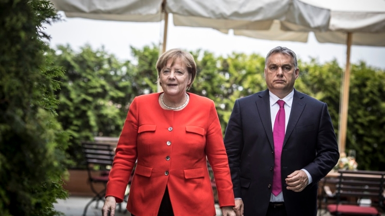 Merkel: Germany-Hungary Economic Cooperation 'Excellent'
