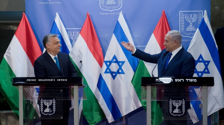 PM Orbán: Hungary & Israel Agree On Key Issues