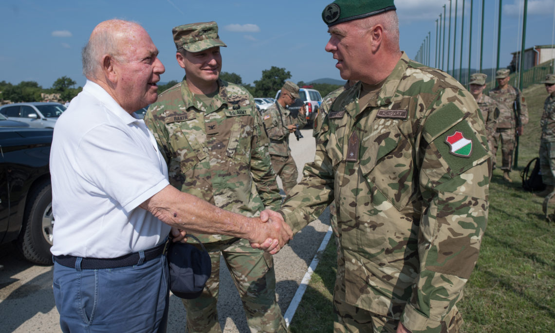 Video: Hungary & U.S. Hold Joint Military Exercises