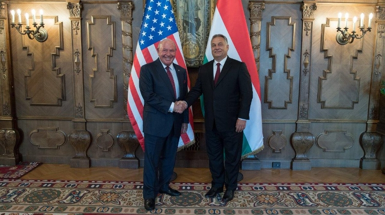 U.S. Embassy On PM Orbán & Ambassador Cornstein Meeting