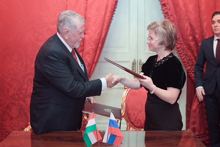 Hungary, Russia Officials Sign Cultural Cooperation Agreement