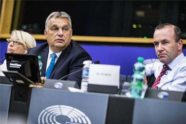PM Orbán: Hungary Won't Give In To Blackmail