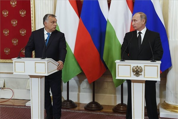 Orbán Meets Putin & Appreciates Russia Ties