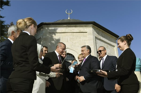 Orbán, Erdogan Inaugurate Renovated Turkish Tomb In Budapest