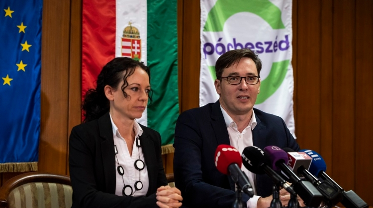 Hungarian Opposition Párbeszéd Re-Elects Szabó, Karácsony As Co-Leaders