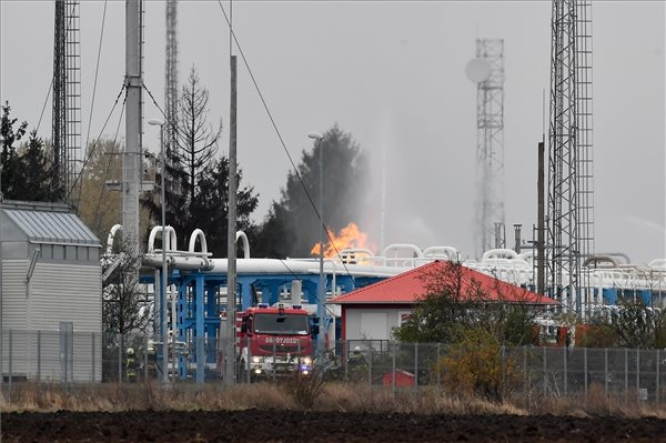 Fire At Hungarian Country's Gas Storage Facility Won't Affect Supplies