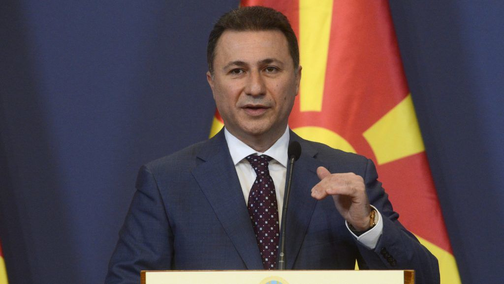 Hungarian Opposition Slams Gov't For Gruevski Asylum