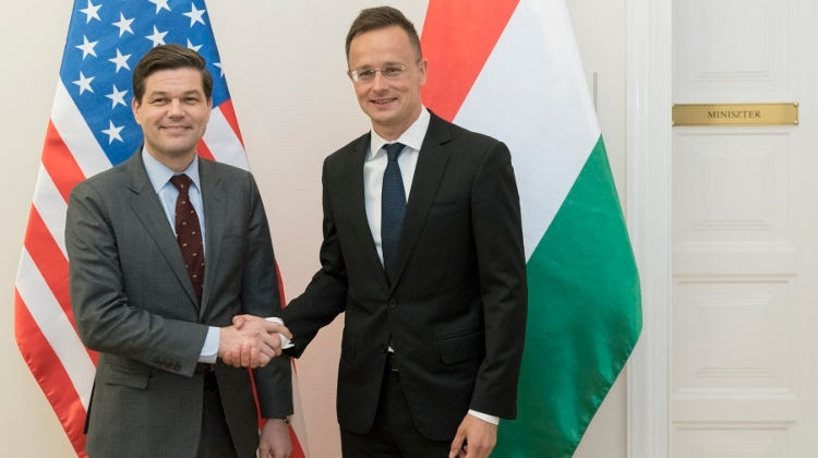 Hungary Held Talks On Energy Security, Defence Cooperation With U.S