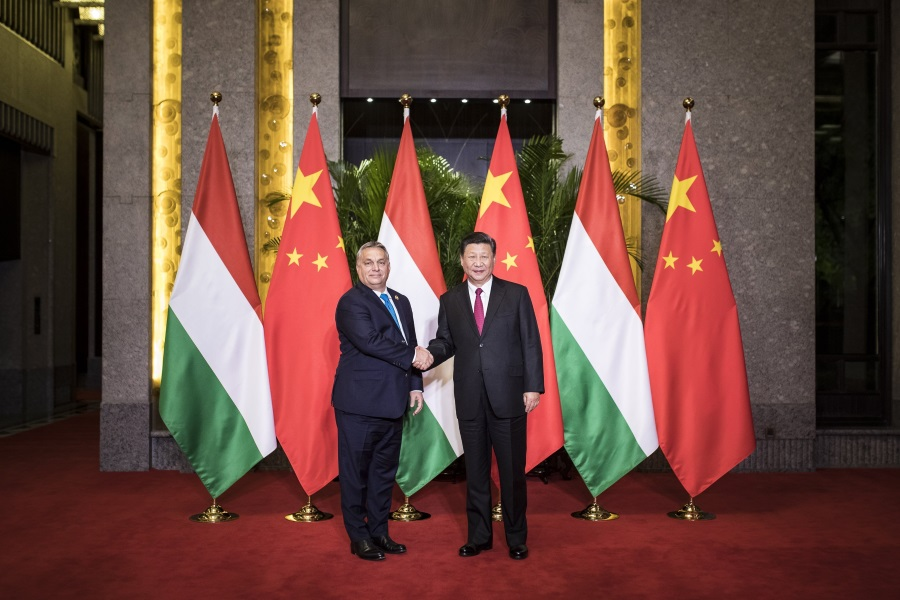 PM Orbán, Chinese President Discuss Ties