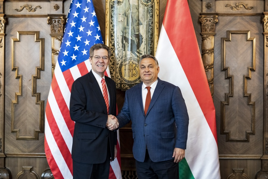 PM Orbán Meets U.S. Ambassador For Religious Freedom
