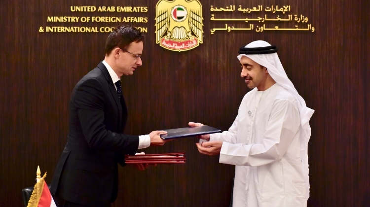 FM Szijjártó Signs Anti-Terrorism Cooperation Agreement With UAE