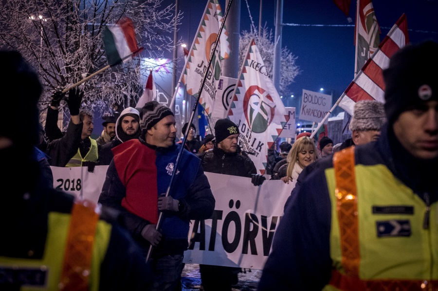 CBC News Video: Overtime Law Sparks Protests In Hungary