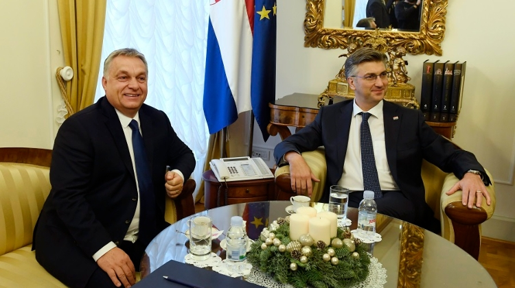 PM Orbán: No Economic Issue More Important Than Hungarian-Croatian Friendship