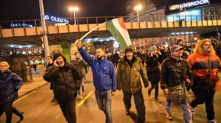 Video: Protests Grow In Hungary Over So-Called 'Slave Law'