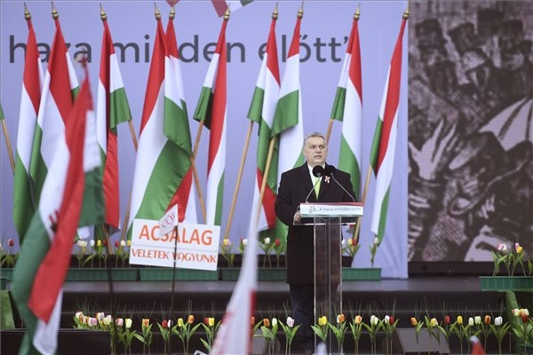 Video: Orbán Warns Of Migration Invasion In March 15th Speech
