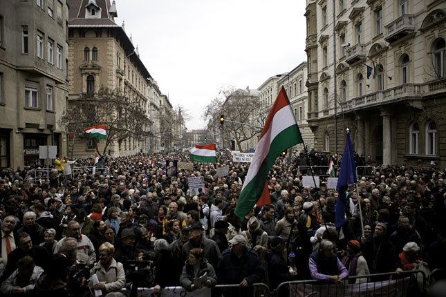 Video: Hungary's Fear Factor