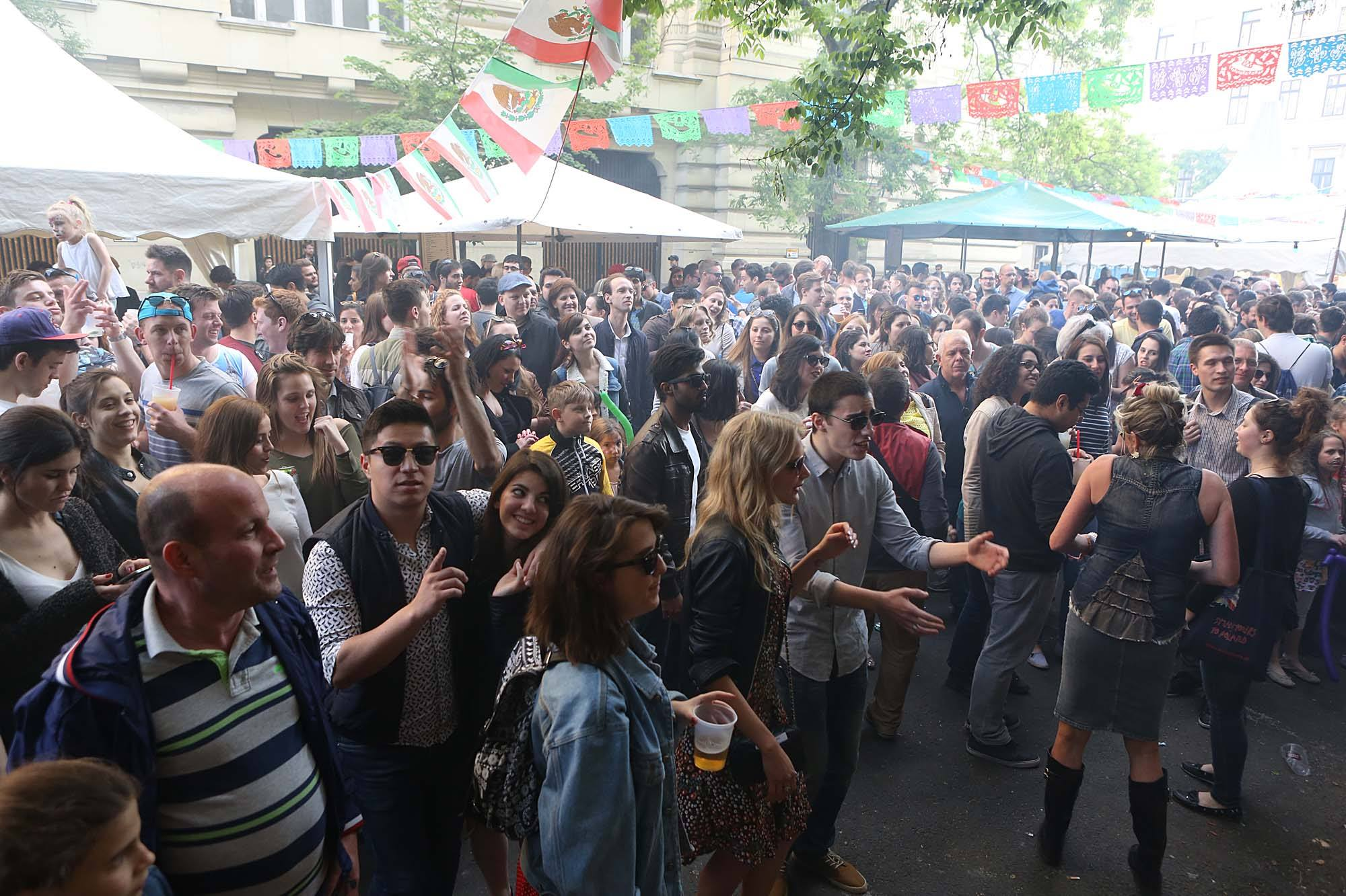 'Cinco De Mayo' Street Party In Budapest, 5 May