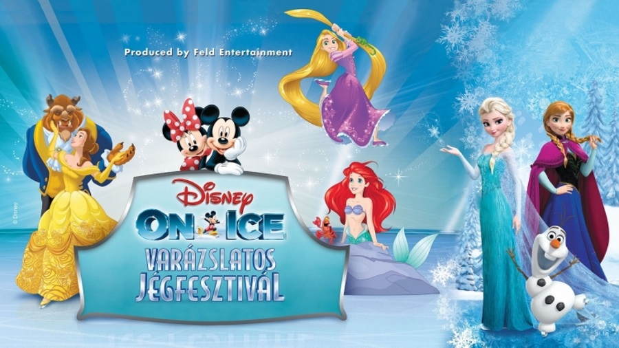 Disney On Ice: Magical Ice Festival, Budapest Arena, 1 – 3 February
