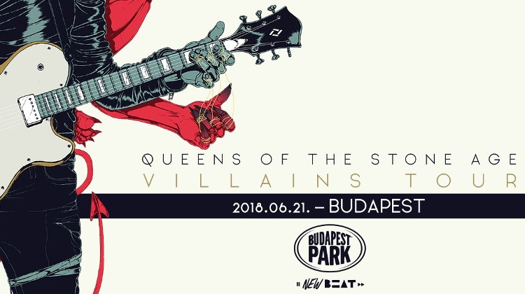 Video: 'Queens Of The Stone Age', Budapest Park, 21 June