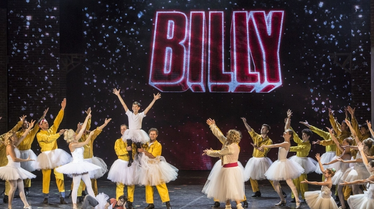 'Billy Elliot Musical', Erkel Theatre, 27 - 30 June